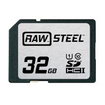 Hoodman 32GB SDHC Memory Card RAW STEEL Class 10 UHS-1