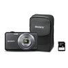 Sony Cyber-shot DSC-WX70 Digital Camera Bundle (Black)