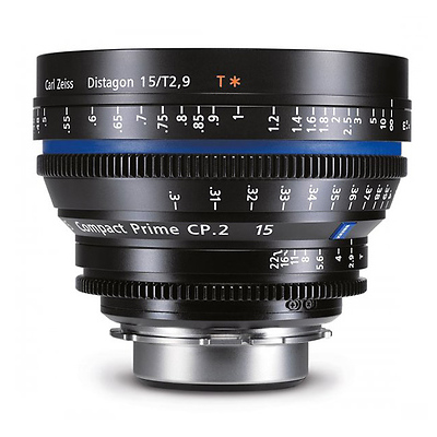 Compact Prime CP.2 85mm/T1.5 Super Speed Lens (Canon EOS-Mount) Image 0