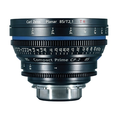 Compact Prime CP.2 85mm/T1.5 Super Speed PL Mount with Imperial Markings Image 0