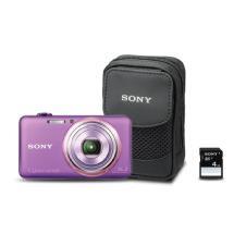 Sony DSC-WX70 Cyber-shot Digital Camera Bundle (Violet)