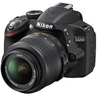Nikon D3200 Digital SLR Camera with 18-55mm Lens