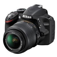 Nikon | D3200 Digital SLR Camera with 18-55mm VR Lens (Black) | 25492 | nikon D3200 Kit | D3200 Kit