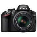 Nikon | D3200 Digital SLR Camera with 18-55mm VR Lens (Black) | 25492