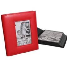 Milano Series Classic 168 4 x 6 Photo Album - Red (1 Album)