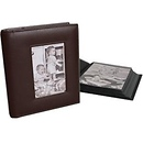 Milano Series | Classic 168 4 x 6 Photo Album - Dark Brown (2 Pack) | 0255072