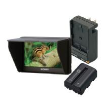 Sony CLM-V55BDL Portable LCD Monitor Bundle