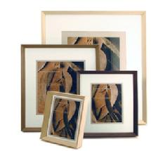 Framatic Woodworks Old Barn Grey 11 x 11 in. Frame with 8 x 8 in. Mat