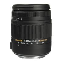 Sigma lenses 18-250mm F3.5-6.3 DC Macro OS HSM for Canon EF Cameras