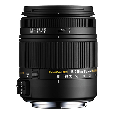 18-250mm F3.5-6.3 DC Macro HSM for Sony Alpha Cameras Image 0