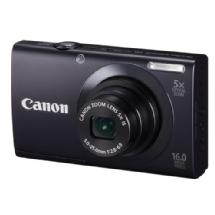 Canon PowerShot A3400 IS Touch Screen Digital Camera (Black) - Open Box*