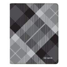 Speck FitFolio for New iPad 3 - MegaPlaid (Black)