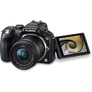 Panasonic | Lumix G5 Digital Camera with Lumix G Vario 14-42mm Lens - Black | DMCG5KK
