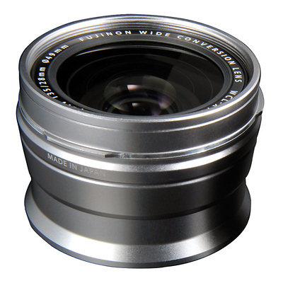 WCL-X100 Wide-Angle Conversion Lens for X100 Camera (Silver) Image 0