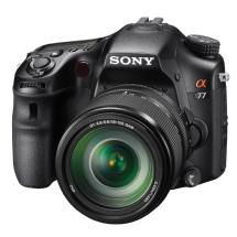 Sony Alpha SLT-A77 DSLR Digital Camera with 18-135mm Lens