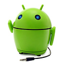 Accessory Power | GOgroove Pal Bot - Rechargeable Portable Android Speaker System | GGPALBOT