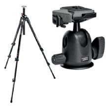 Manfrotto 3-Section Aluminum Pro Tripod with 496RC2 Compact Ball Head