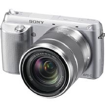 Sony Alpha NEX-F3 Compact Interchangeable Lens Digital Camera with 18-55mm Lens (Silver)