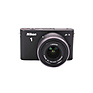 1 J1 Digital Camera, Black w/ 10-30mm f/3.5-5.6 Lens, Black - Pre-Owned