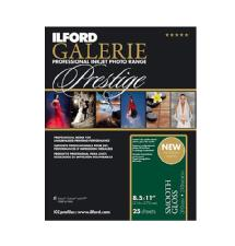 Ilford Galerie Prestige Smooth Gloss Paper (8.5 x 11 in. - 25 Sheets)