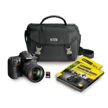 Nikon D7000 Digital SLR Camera with 18-200mm VR II Lens Kit and Accessory Bundle