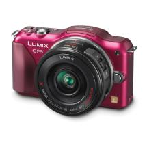 Panasonic Lumix DMC-GF5X Digital Micro Four Thirds Camera with 14-42mm Lens (Red)