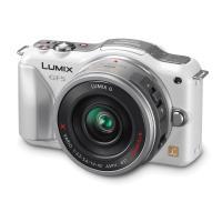 Panasonic | Lumix DMC-GF5X Digital Micro Four Thirds Camera with 14-42mm Lens (White) | DMCGF5XW