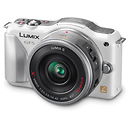 Panasonic | Lumix DMC-GF5X Digital Micro Four Thirds Camera with 14-42mm Lens (White) | DMCGF5XW