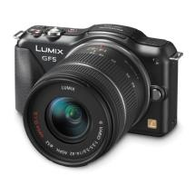 Panasonic Lumix DMC-GF5 Digital Micro Four Thirds Camera with 14-42mm Lens (Black)