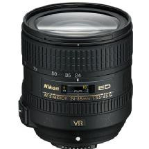 Nikon AF-S 24-85mm f/3.5-4.5G ED VR Nikkor Lens