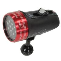 Light & Motion | Sola Photo with Red Focus Light (1200-Lumens, Red) | 850-0176