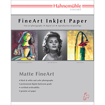 Hahnemuhle William Turner Matt Fine Art Paper - 190 gsm (11 x 17 in. - 25 Sheets)
