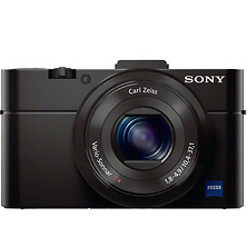 DSC-RX100 Cyber-shot Digital Camera (Black) Image 0