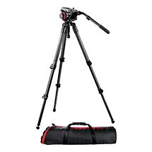 Manfrotto 504HD Head 535K 2-Stage Carbon Fiber Tripod System - Open Box*