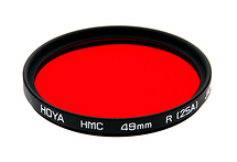 Hoya 49mm Red #25A (HMC) Multi-Coated Glass Filter (Open Box)