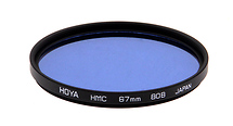 Hoya 67mm 80B Color Conversion Multi-Coated (HMC) Glass Filter (Open Box)