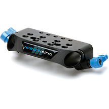 Redrock Micro ultraCage Blue 19mm Top Rail Clamp
