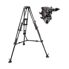 526,545BK Professional Video Tripod System with 526 Head (Black) Image 0