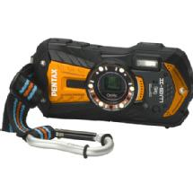 Pentax Optio WG-2 Digital Camera (Orange)