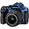 Pentax K-30 Digital SLR Camera with 18-55mm AL Lens (Blue)