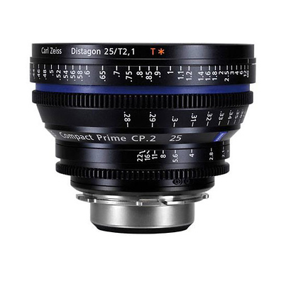 CP.2 25mm T2.1 Compact Prime Lens (Canon EOS-Mount) Image 0