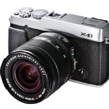 Fujifilm X-E1 Digital Camera (Silver) w/18-55mm lens