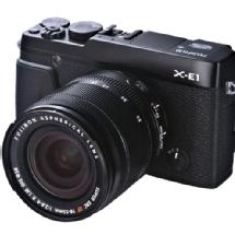 Fujifilm X-E1 Digital Camera (Black) w/18-55mm lens