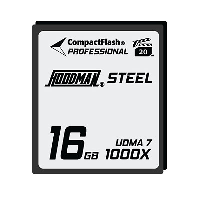 Steel 16GB CompactFlash Card 1000X Image 0