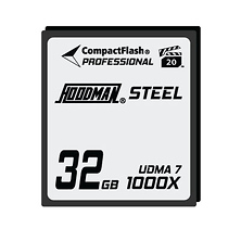 Steel 32GB CompactFlash Card 1000X Image 0