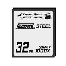 Hoodman Steel 32GB CompactFlash Card 1000X
