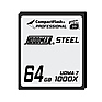 Steel 64GB CompactFlash Card 1000X