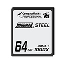 Hoodman | Steel 64GB CompactFlash Card 1000X | HS7CF64