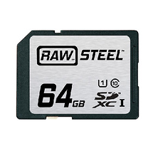 RAW Steel Ultra High Speed UHS-1 Image 0
