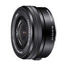 Sony | 16-50mm f3.5-5.6 Pancake Zoom Lens for Sony E Mount Cameras | SELP1650